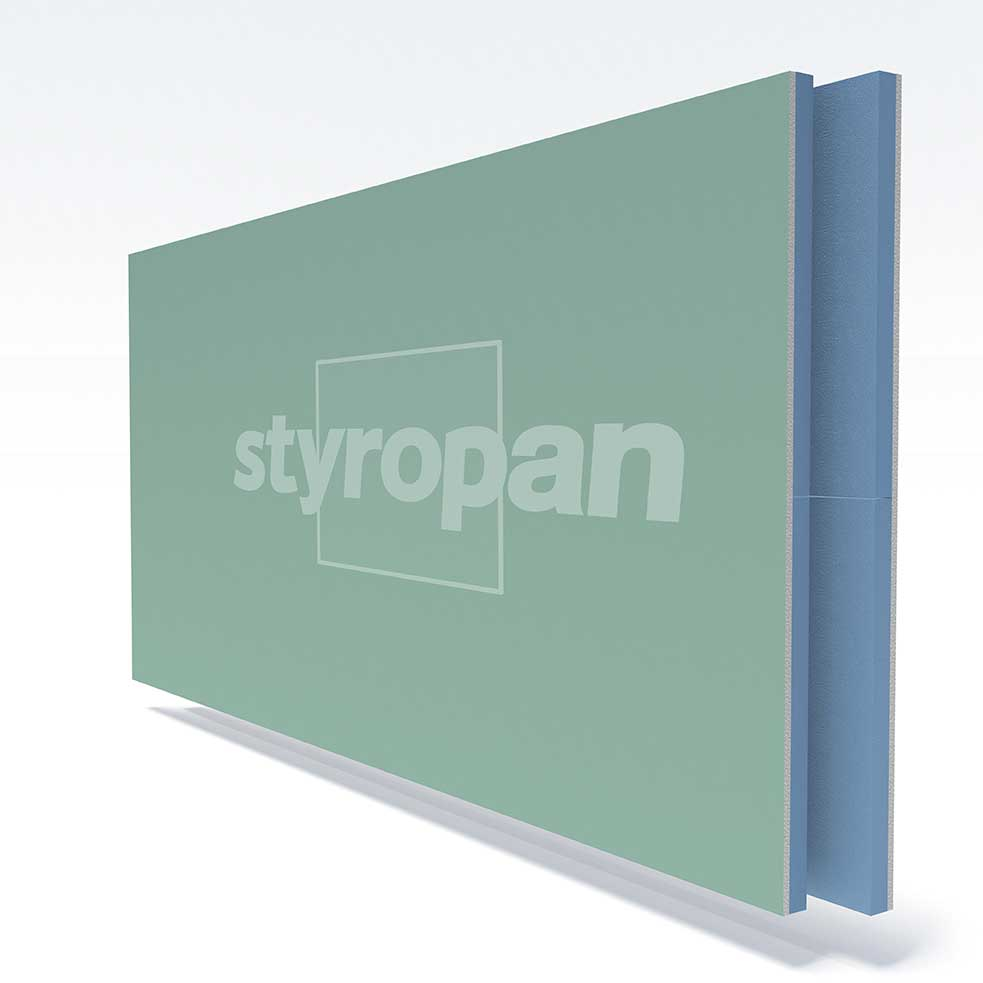 STYROPAN XPS with gypsum board