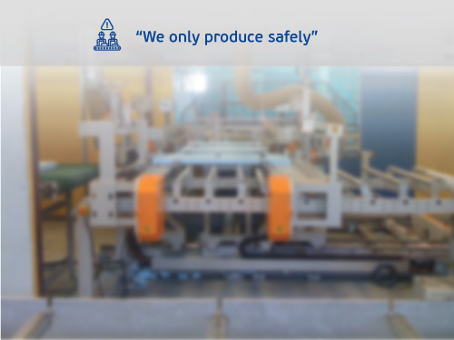 Styropan production facilities, hygiene and safety